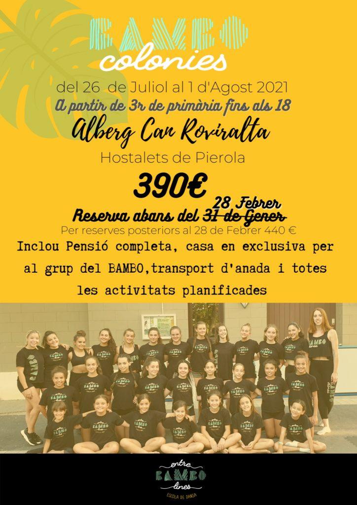 Campamento de acrobacia y danza para niños y niñas, jóvenes y adolescentes